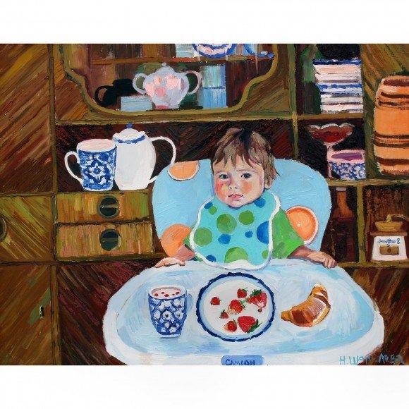 Завтрак молодого человека Шепелева Наталья