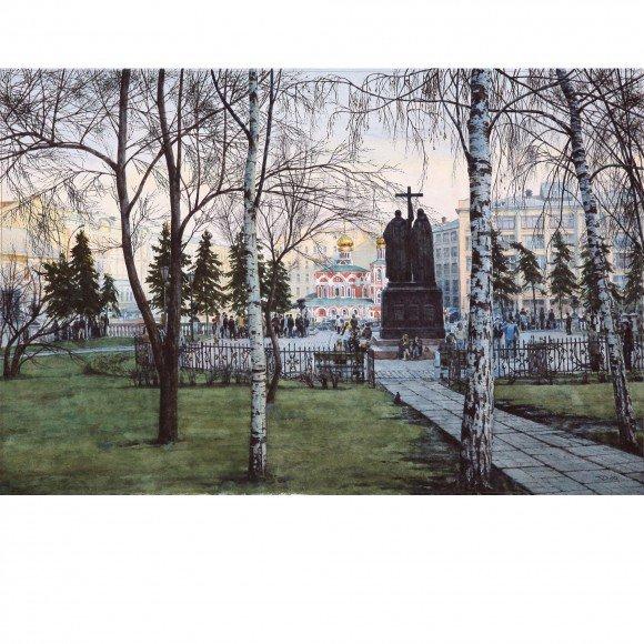 Кирилл и Мефодий. Из серии «Московский акын» Родзин Дмитрий