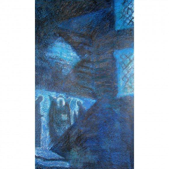Храм ночью Тимохина Василиса
