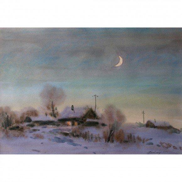 Ночь в селе Гайнуллин Кетдус