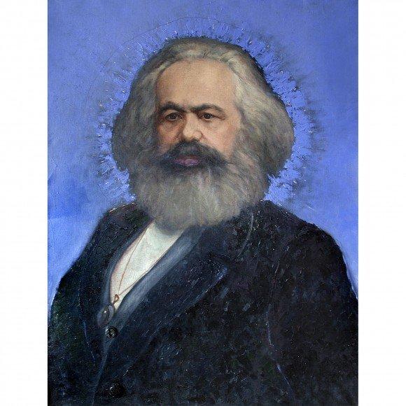 Портрет Карла Маркса Терехин Владимир