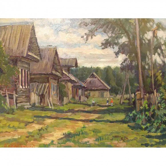 Ветреный день. Дом в Горшково Ковалевский Андрей
