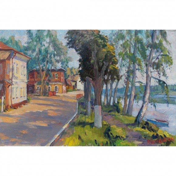 Набережная в городе Плёс Ковалевский Андрей