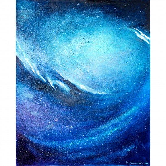 Безграничная пустота вселенной (Триптих центральная часть) Богомолова Екатерина