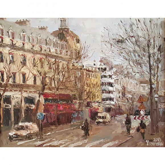 Парижский бульвар Кузнецова Юлия