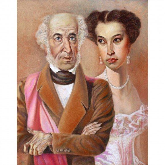 Пушкин с Музой в день своего 70-летия 26 мая 1869г Жирнов Владимир