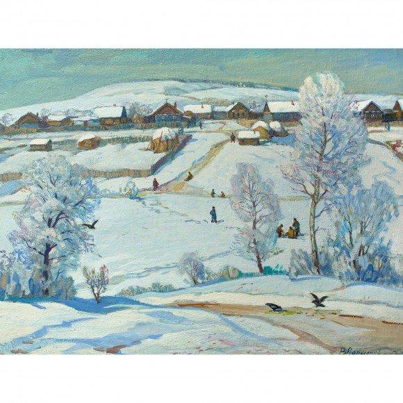Морозный день Ларионов Василий