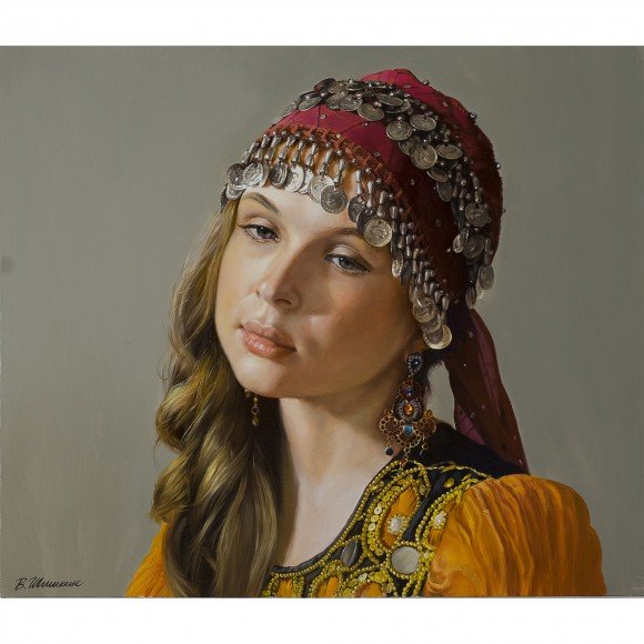 Девушка в восточном наряде Шишкин Валерий