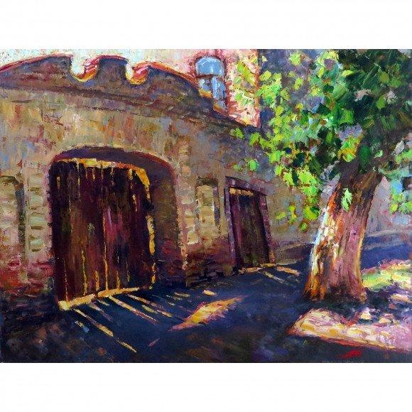 Старые ворота Мантров Дмитрий