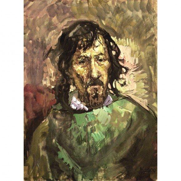 Портрет скульптора Куклева Александра Кулебакин Денис