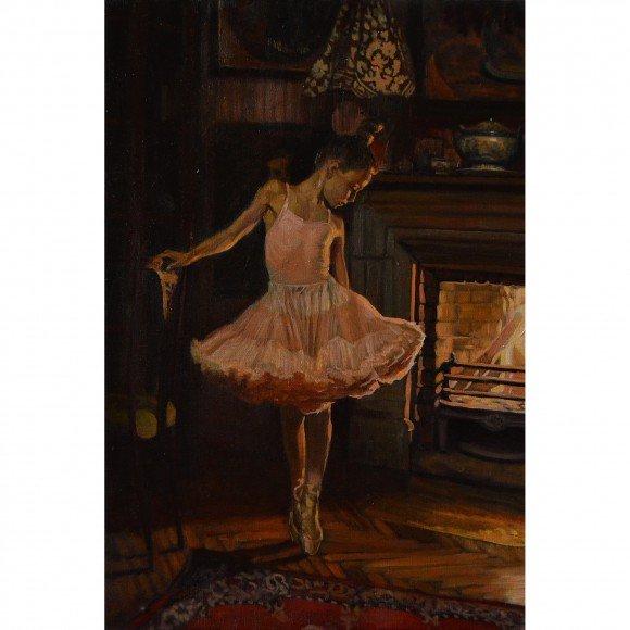 Балеринка у камина Морозов Константин