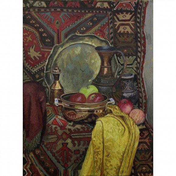Натюрморт с турецким ковром Морозов Константин