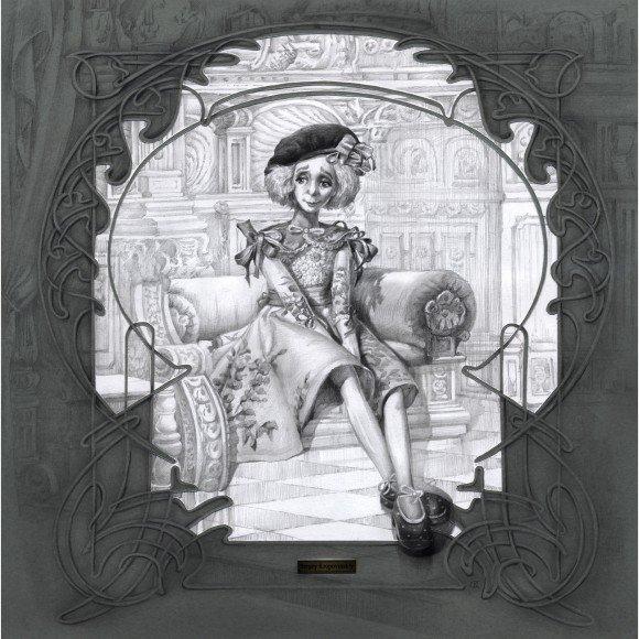 Кукла Алиса в интерьере Кроповинский Сергей