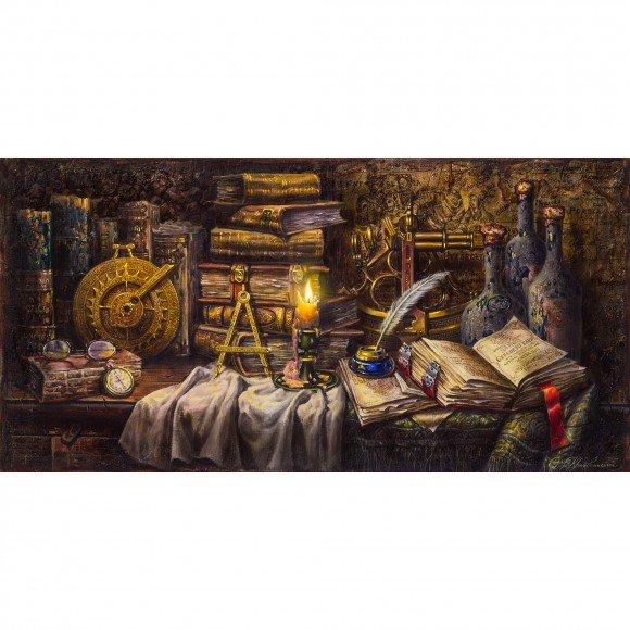 Натюрморт со старинными навигационными приборами Кроповинский Сергей