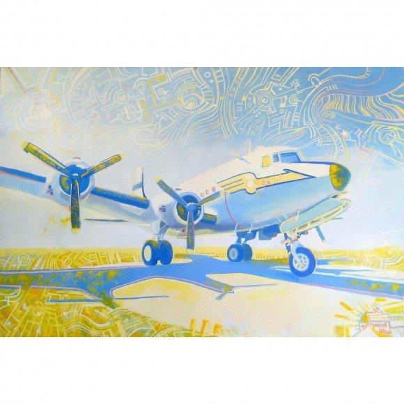 Douglas C-54 Skymaster Крюков Иван