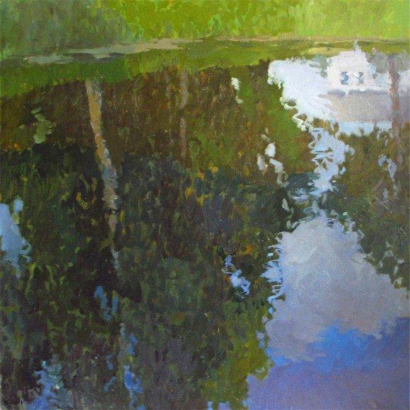 Зелёный пруд Демина Евгения