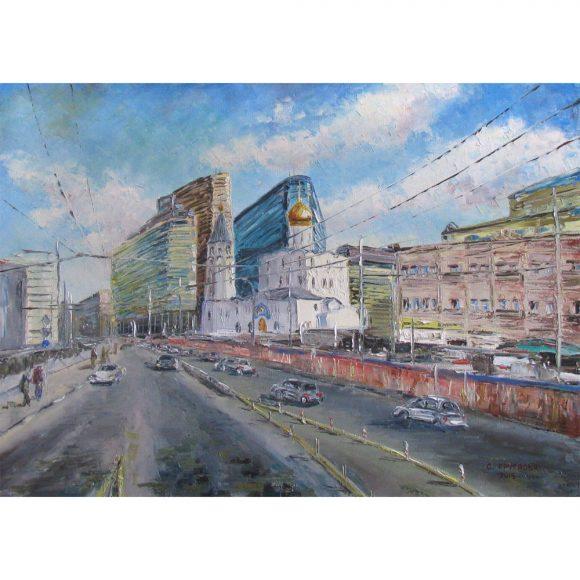 Церковь Николая Чудотворца у Тверской заставы