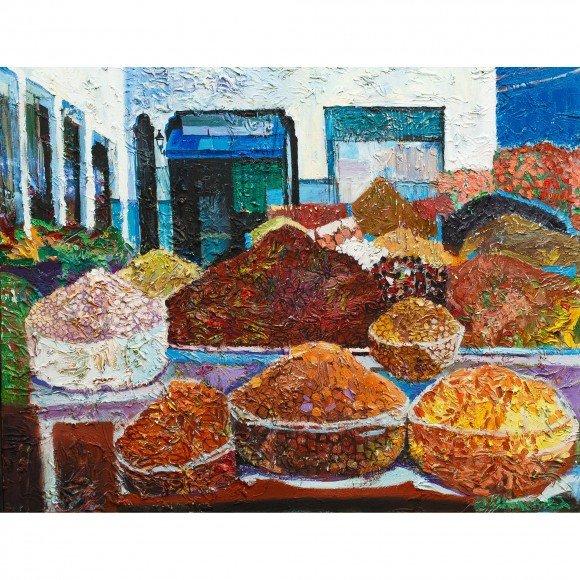 Рынок специй в Касабланке Шепелева Наталья
