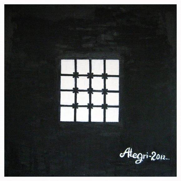 Белые квадраты в черном квадрате Гришанков Алексей