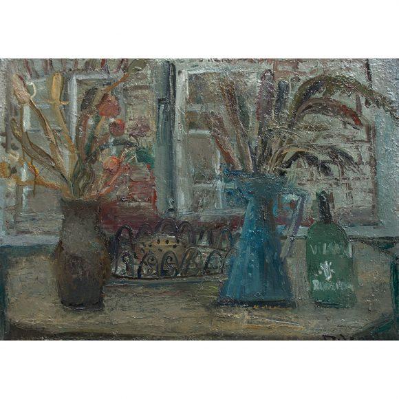 Натюрморт с сухими цветами Пасечник Ольга