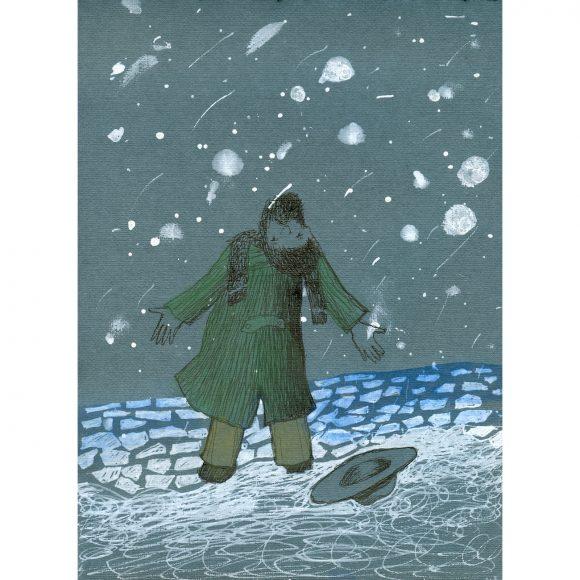 Мартовский снег Давыдова Елизавета