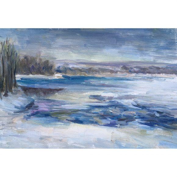 Зимняя Волга Богачёва Татьяна