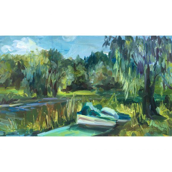 Озеро в парке Богачёва Татьяна
