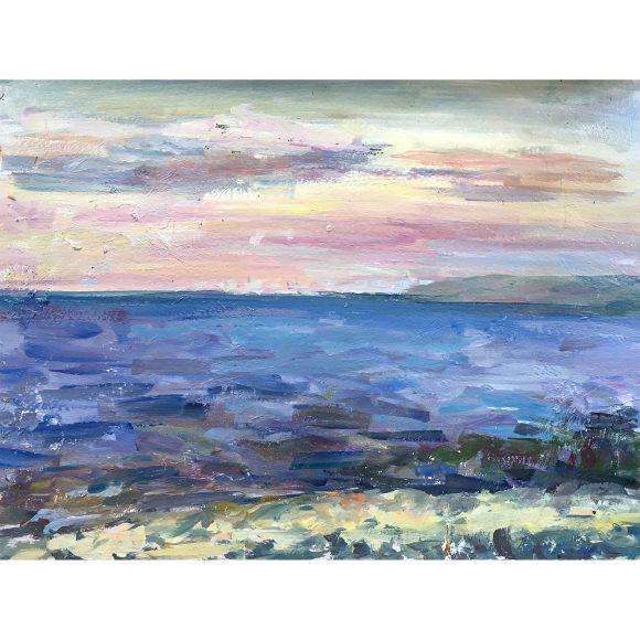 Закат на море Богачёва Татьяна
