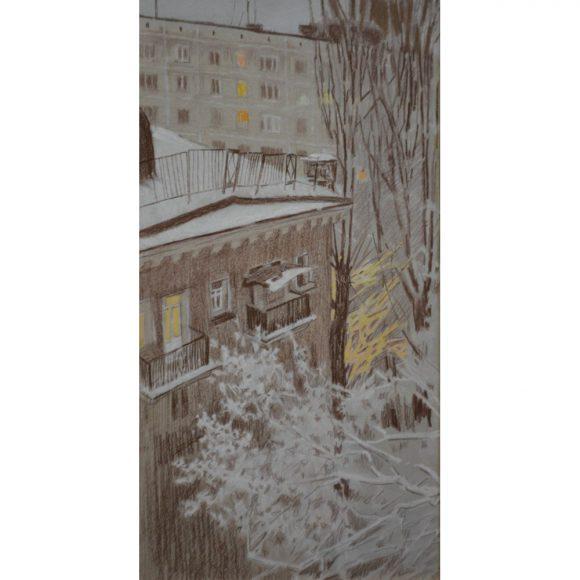 А за окнами зима Блинова Юлия