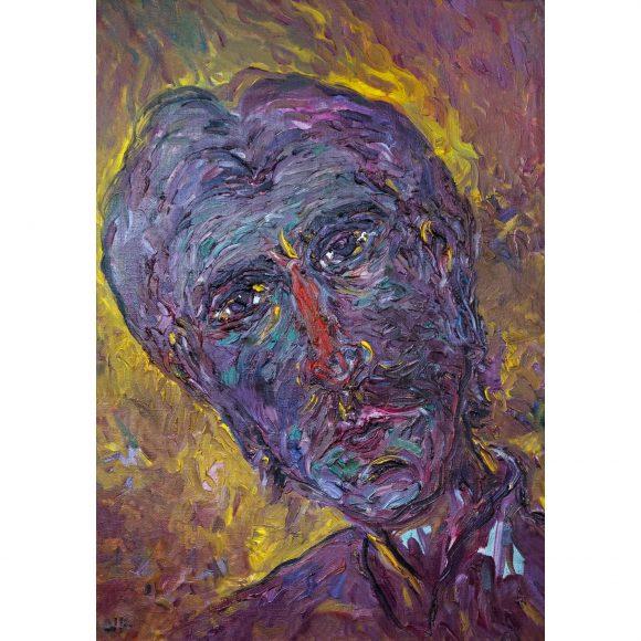 Автопортрет «Человек из параллельного мира» Терехин Владимир