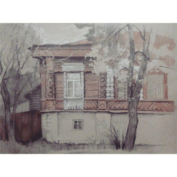 Деревянное зодчество Блинова Юлия