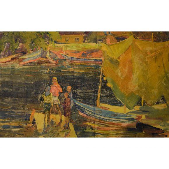 Дети на реке Трубежь Лежников Юрий