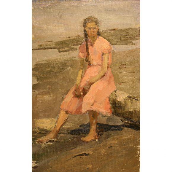Девушка в розовом платьице Фирсов Алексей