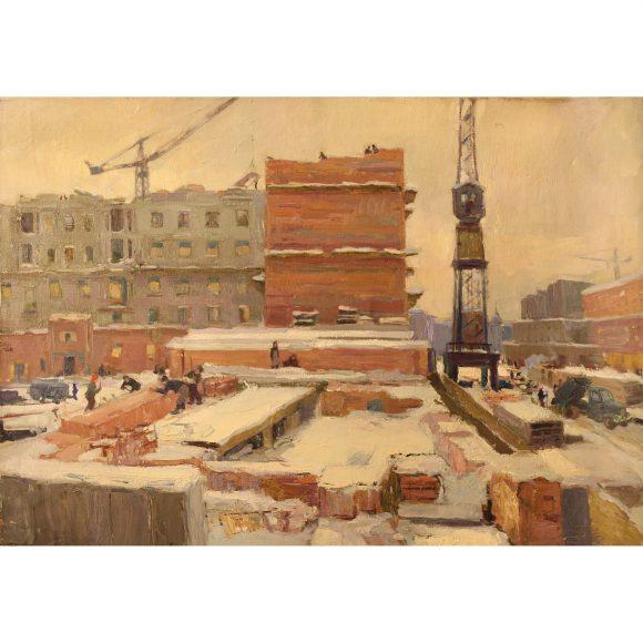 Город строится Фирсов Алексей