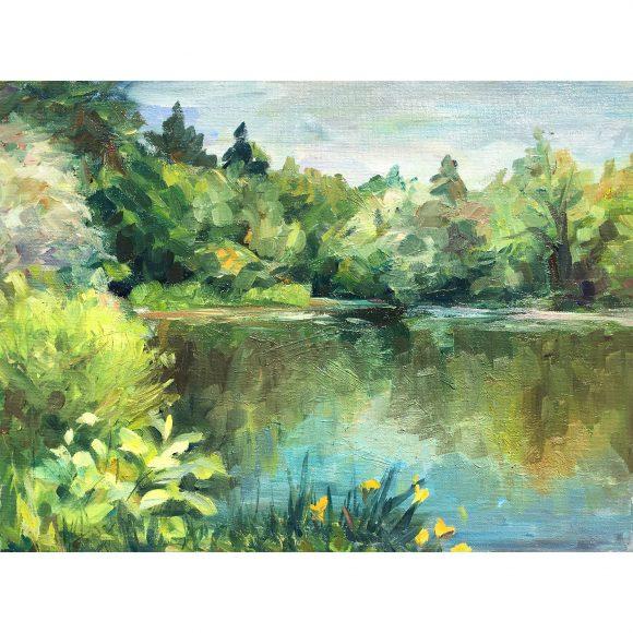 Кувшинки на озере Богачёва Татьяна