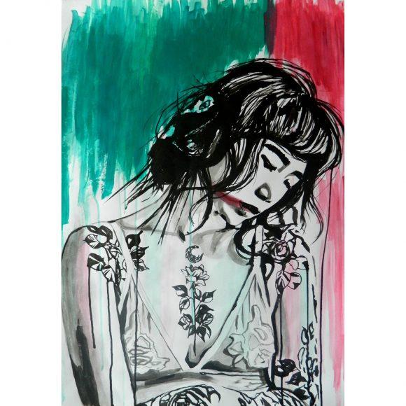 Japanese girl Art Simia