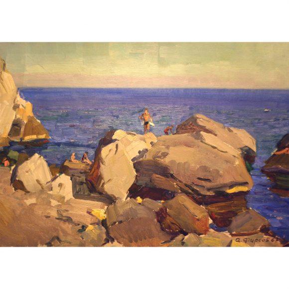 Камни у берега