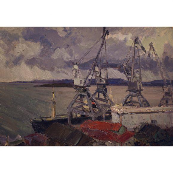 Краны в порту Фирсов Алексей