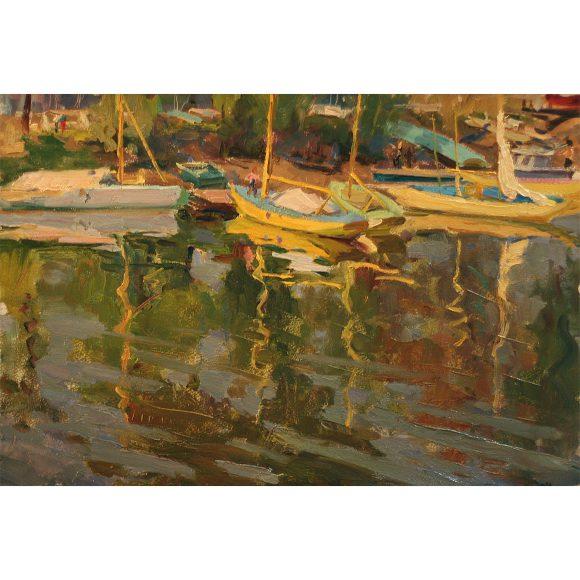 Лодки у берега Фирсов Алексей
