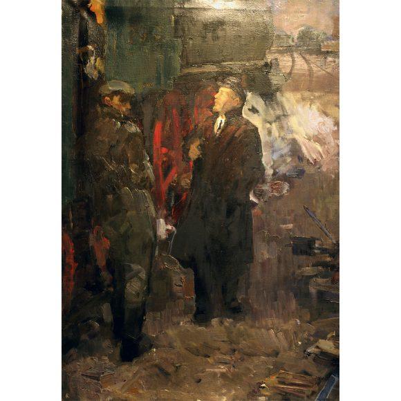 Ленин и машинисты