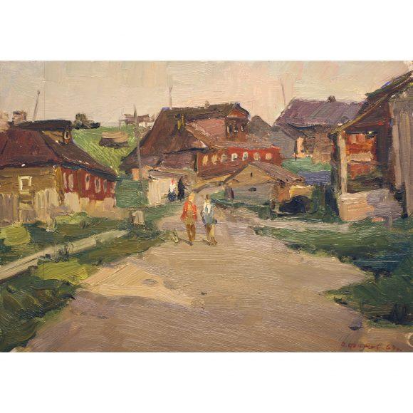 На деревне