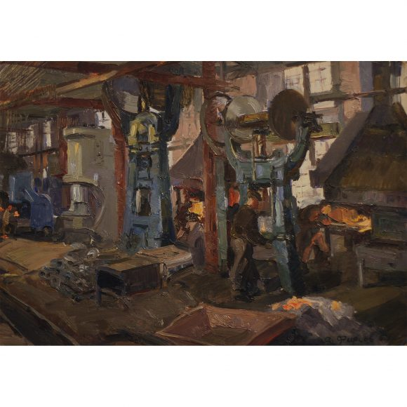 На металлургическом заводе Фирсов Алексей