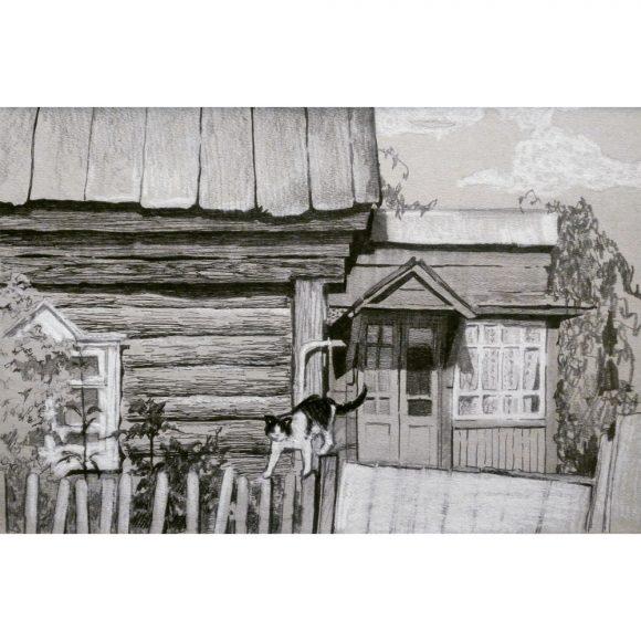 На заборе Блинова Юлия
