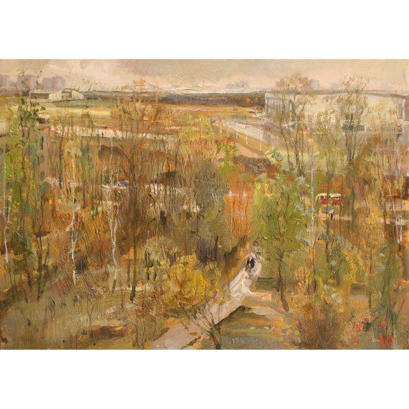 Осень в пригороде Фирсов Алексей