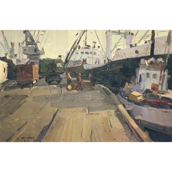 Погрузка в порту