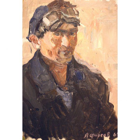 Портрет металлурга. этюд