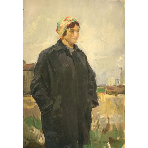 Портрет стахановки Фирсов Алексей