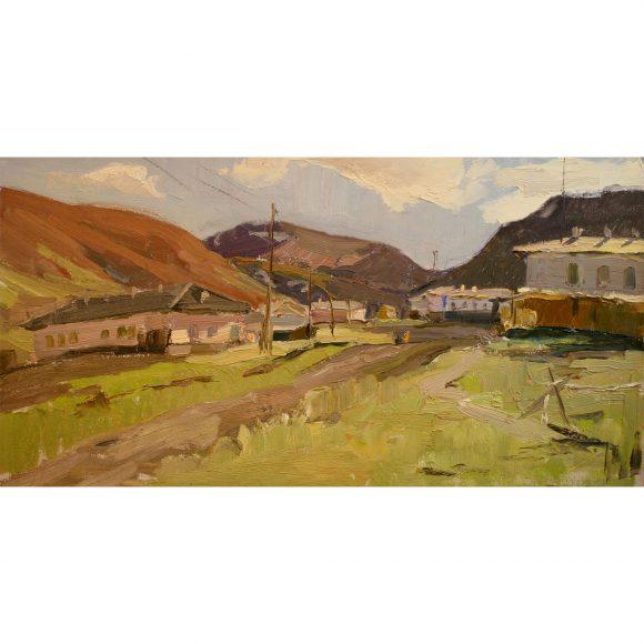 Посёлок в горах