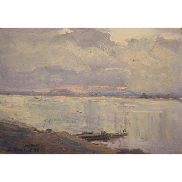 Рассвет на реке Фирсов Алексей