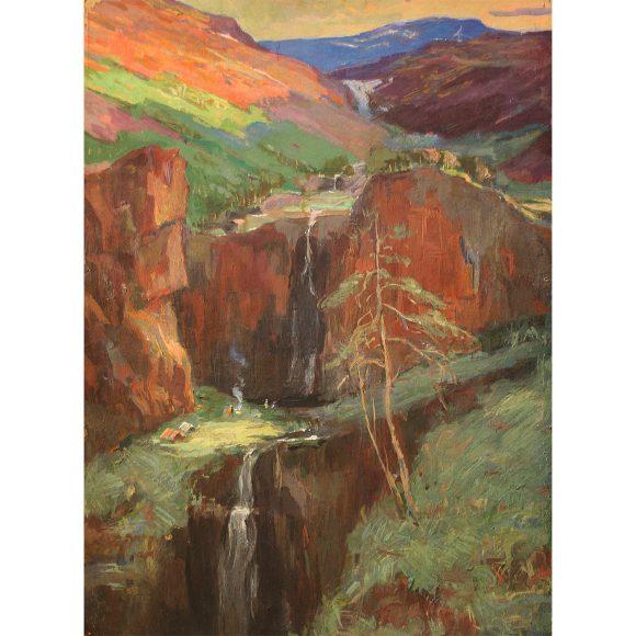 Река в горах Фирсов Алексей